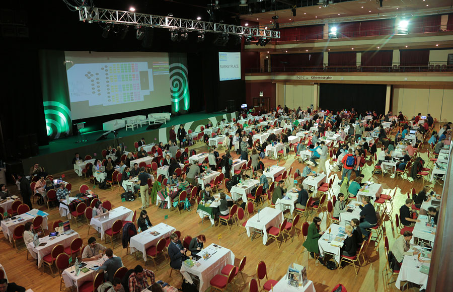 At The Adventure World Travel Summit workshops at The Killarney Convention Centre this week, over 700 Delegates from all over the globe are attending the summit.Photo:Valerie O'Sullivan/NO REPRO FEE